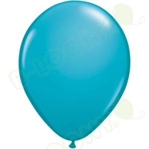 "5"" Latex Balloon Tropical Teal (Pack of 100)"