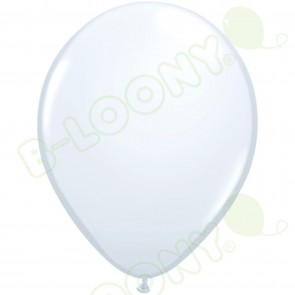 "5"" Latex Balloon White (Pack of 100)"
