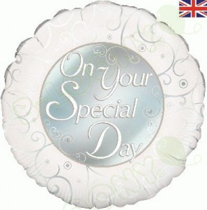 On Your Special Day Foil Wedding Balloon