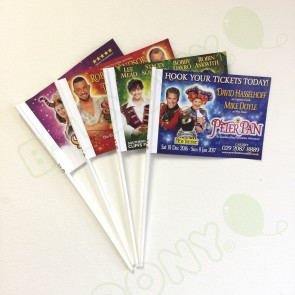 Custom Printed Theatre Promotion & Pantomime Flags