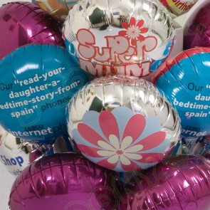 Custom Printed Mini Foil Balloons (9 Inch)