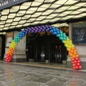 Pride Rainbow Colour Balloon Arch