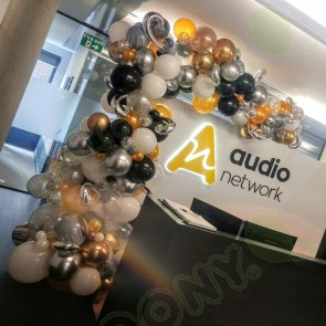 Organic Balloon Art for Audio Network
