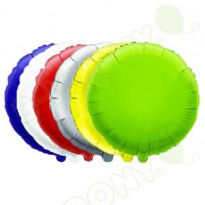 Round Metallic Foil Balloons