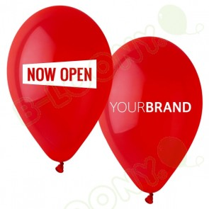 Now Open Printed Latex Balloons