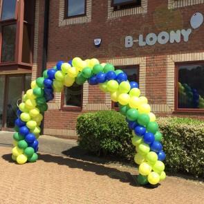 Swirl Balloon Arch