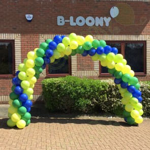 B-Loony Swirl Balloon Arch
