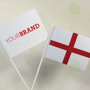 Branded St George England Hand Waving Flags