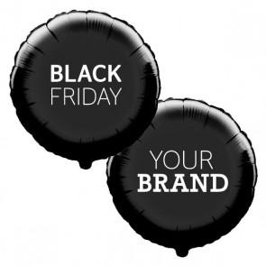 Black Friday Custom Printed Foil Promotional Display Balloons