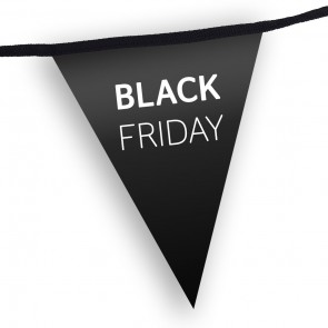 Black Friday Custom Printed Promotional Bunting