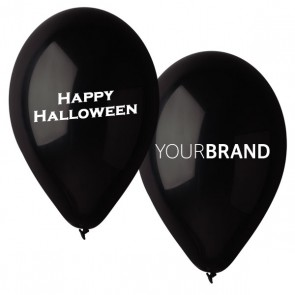 Happy Halloween Printed Latex Balloons