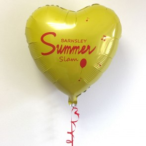 Custom Printed Star Foil Balloons