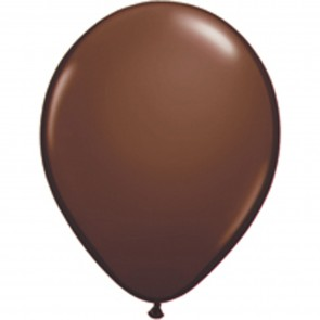 """5"""" Latex Balloon Chocolate Brown (Pack of 100)"""