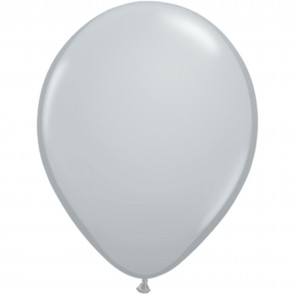 "5"" Latex Balloon Grey (Pack of 100)"