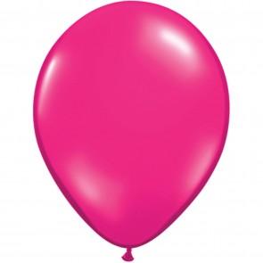 "5"" Latex Balloon Jewel Magenta (Pack of 100)"
