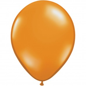 "5"" Latex Balloon Mandarin Orange (Pack of 100)"