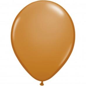 "5"" Latex Balloon Mocha Brown (Pack of 100)"