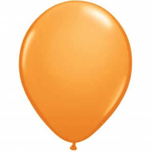 "5"" Latex Balloon Orange (Pack of 100)"