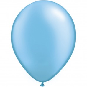 """5"""" Latex Balloon Pearl Azure (Pack of 100)"""