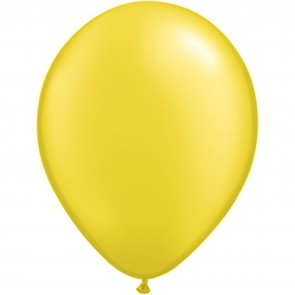 """5"""" Latex Balloon Pearl Citrine (Pack of 100)"""