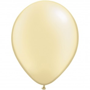 """5"""" Latex Balloon Pearl Ivory (Pack of 100)"""