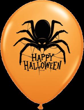 11 Inch Latex Balloons Halloween Spider