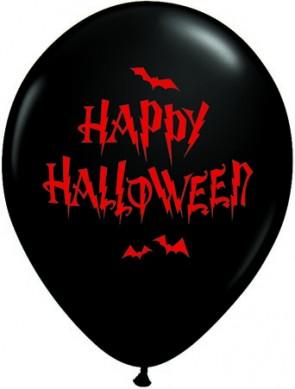 11 Inch Latex Balloons Haunted Halloween Bats