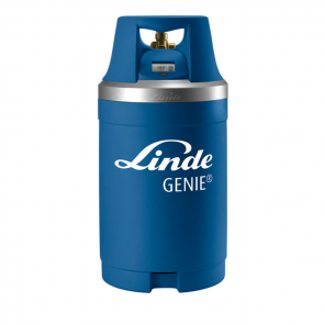 Genie (G10) Helium Gas Cylinder with Digital Gauge (2.6m³)