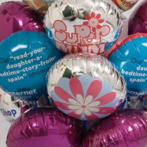 Custom Printed Mini Foil Balloons (9 Inch)