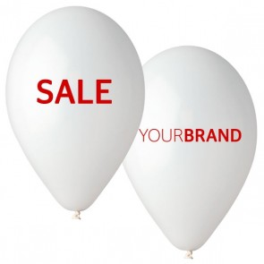 SALE Printed Latex Balloons