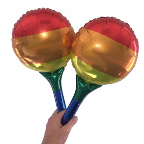 Handloon - Mini Foil Balloon with Integrated Handle