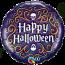 18 Inch Foil Balloon Halloween Skeleton Filigree