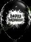 11 Inch Latex Balloons Halloween Haunted Skull Front