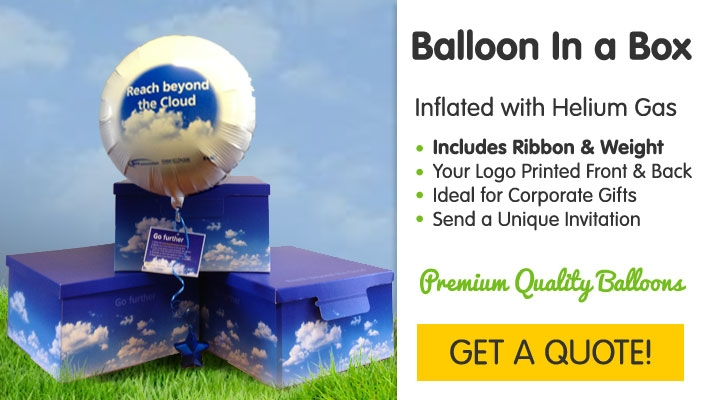 Branded Balloon in a Box