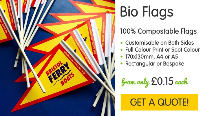 Biodegradable Flags