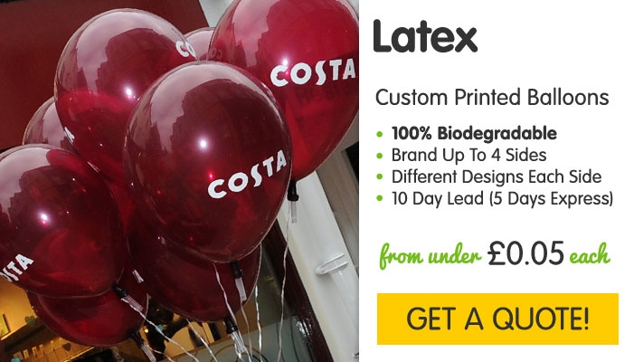Printed Biodegradable Latex Balloons