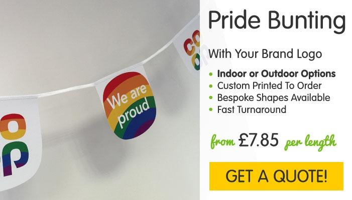 Pride Custom Printed Bunting