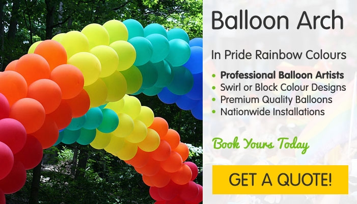 Pride Balloon Arches