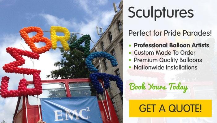 Pride Balloon Sculptures