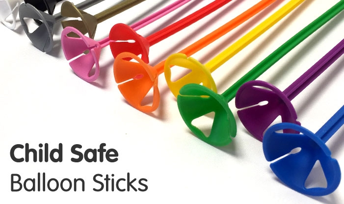Child Safe Balloon Sticks