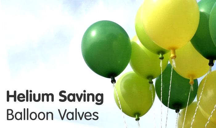 Helium Saving Balloon Valves