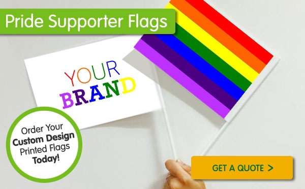 Pride Custom Printed Flags