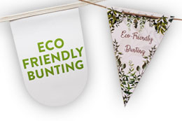 Eco Friendly Bunting