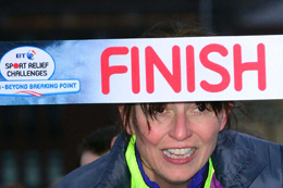 Finishing Line Ribbon
