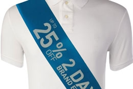 Promotional Sashes