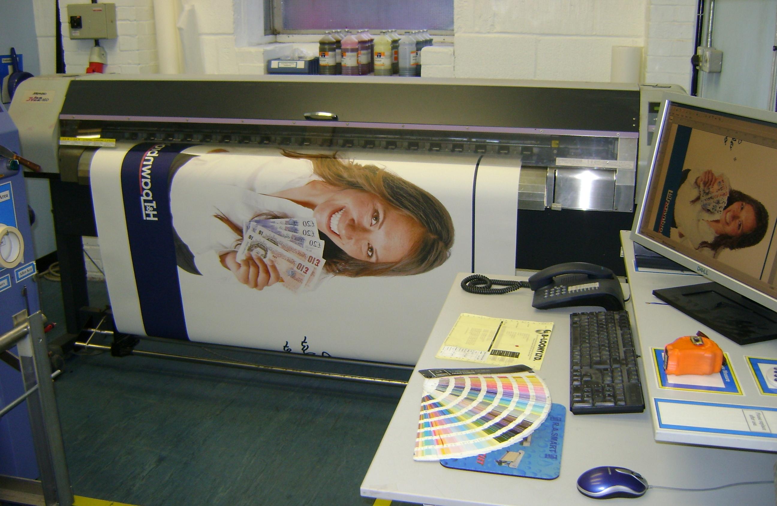 Printing Custom Banners
