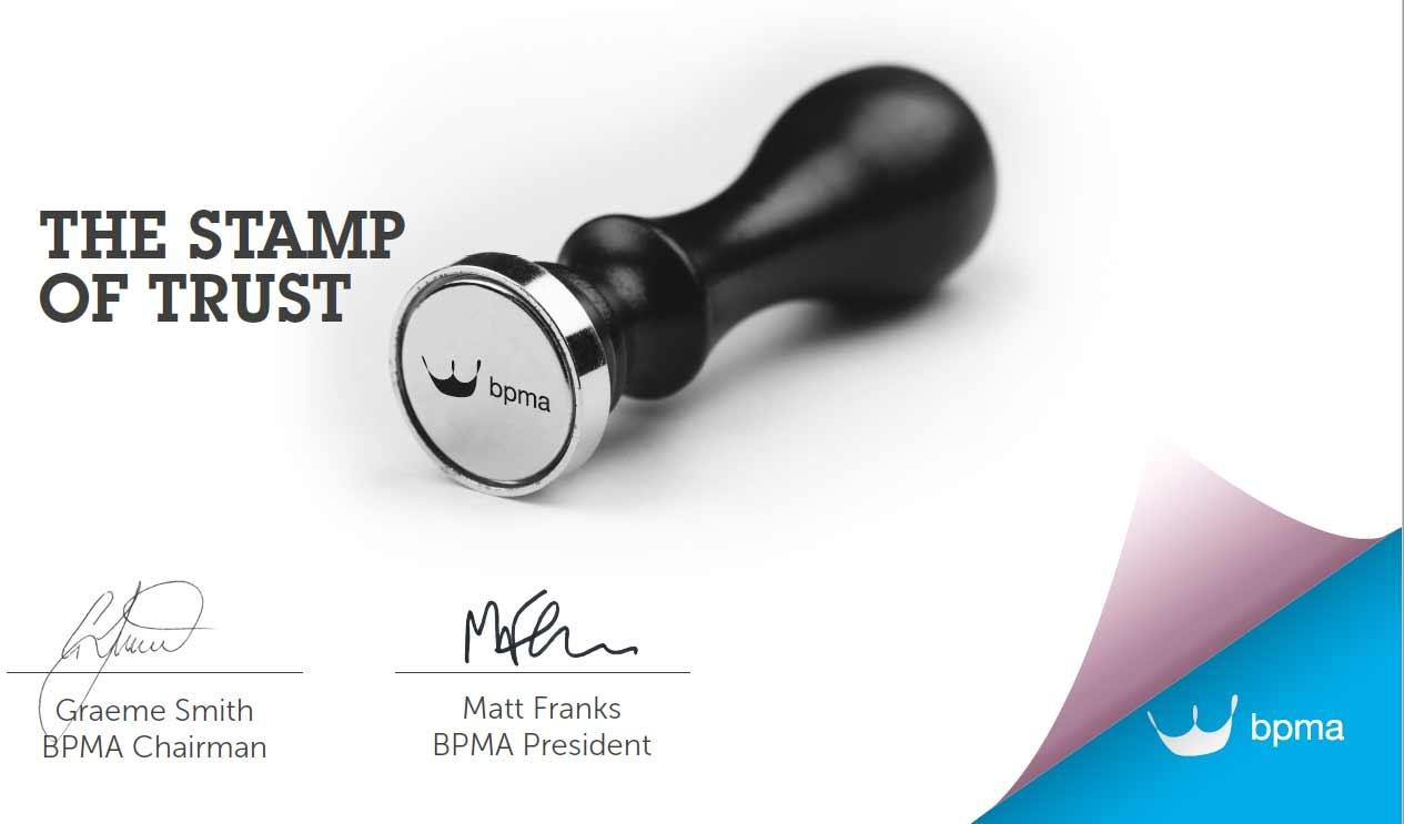 BPMA - Stamp of Trust