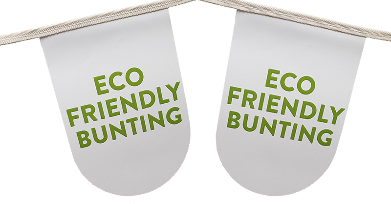 Eco Friendly Cotton & Paper Bunting