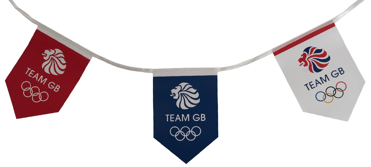 Team GB Custom Printed Bunting