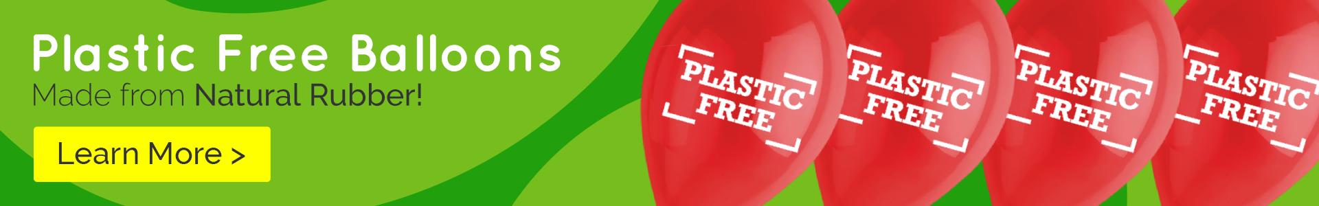 Plastic Free Balloons